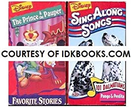 DISNEY VHS: The Prince & The Pauper *PLUS FREE GIFT: Sing Along Songs: 101 Dalmations, Pongo & Perdita *SHIPS SAME DAY WITH FREE TRACKING*