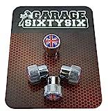 Garage-SixtySix, 4tappi coprivalvola modello Chicago con motivo:Regno Unito.