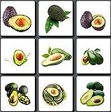 20 Pezzi Avocado Semi Per Giardinaggio All'aperto Piantare Risultati Estivi Frutti Verdi Decorano Il Cortile Frutti Di Cimelio Non OGM Facili Da Raccogliere