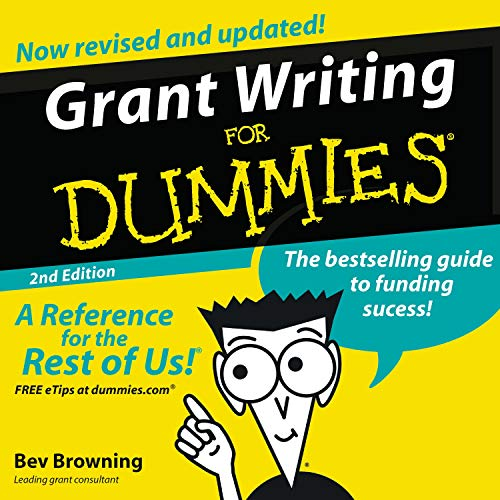 Couverture de Grant Writing for Dummies, 2nd Edition