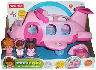 Little People Lil' Movers Pink Airplane