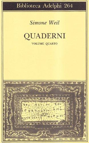 Quaderni Volume 4