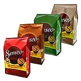 Senseo Set 2, Riserva di Cialde, Macchina del Caffè, Pacco Convenienza, 4 Tipi, 192 Porzioni