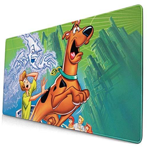 Alfombrilla de ratón Scooby-Doo y Cyber Chase, Alfombrilla de Teclado Impermeable, Alfombrilla de ratón, Base de Goma Antideslizante, portátil, Oficina