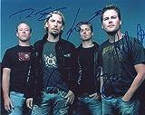 Nickelback Signiert Autogramme 25cm x 20cm Foto
