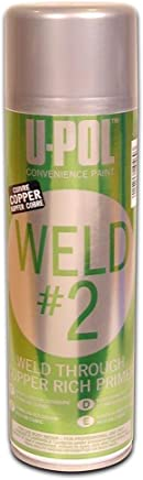 U-Pol Products 0768 Zinc/Copper WELD#2 Weld Through Primer - 450ml