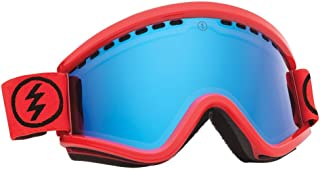 Electric Visual EGV Bright Brick/Bronze Blue Chrome Snow Goggle