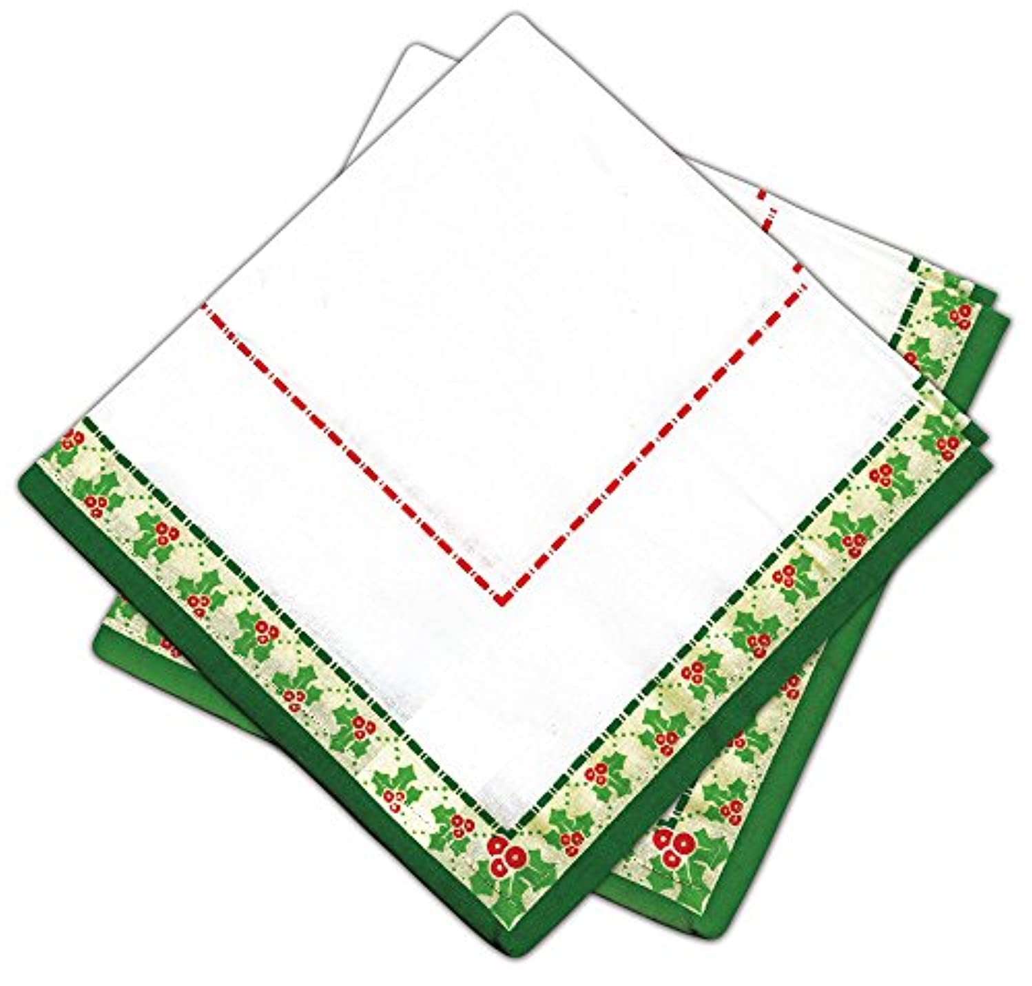 Design Works Crafts Design Works Printed Napkins 2pc Holly