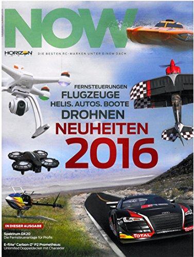 NOW – Horizon hobby magasin nyheter vår/sommar 2016