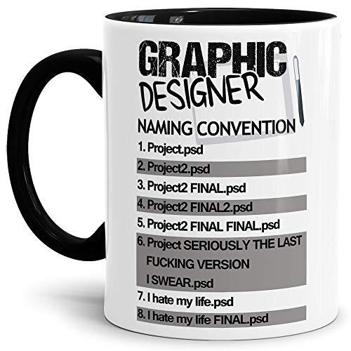 Grafiker-Tasse mit Spruch