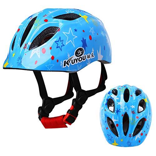 Best Review Of Zaldita Kids Adjustable Helmet Cute Multi-Sport Cycling Riding Skating Scooter Helmet...