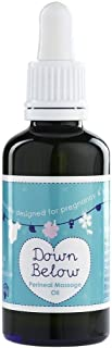 Natural Birthing Company Down Below Pregnancy Perineal Massage Oil with No Synthetic Fragrances 50 ml – Pregnancy Massage Oil – Massage Oil for Pregnancy – Perineal Oil