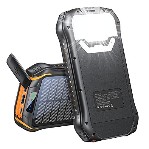 Solar Charger 33500mAh, Portable...