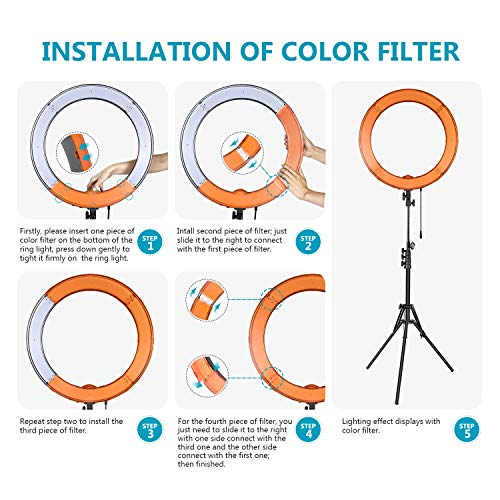 Use an LED Ring Light for awesome selfies 9