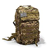 Bug Out Bag Backpack - 50L Tactical Backpack - Great for Survival Essentials (Green Camo)…