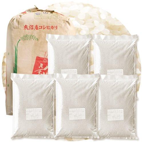 新潟県産 南魚沼産コシヒカリ 白米 22.5kg (4.5kg×5 袋) 令和元年産