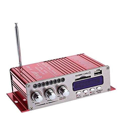 teng hong hui Estéreo Kentiger HY-502S 2CH Altavoz Bluetooth Hi-Fi Amplificador de...