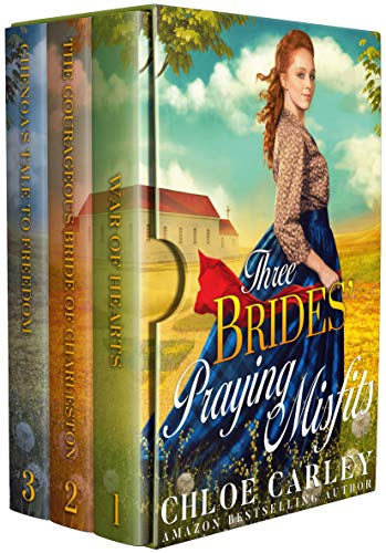 Three Brides' Praying Misfits: A Christian Historical Romance Collection (English Edition)