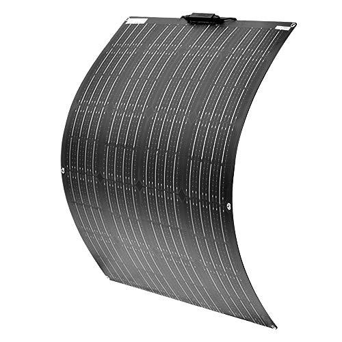 YUANFENGPOWER 100w 18v Flexibles Solarpanel monokristallines Solarmodul für Boot, Yacht, Camping, Caravan, Wohnmobil, 12v Batterieladen