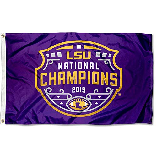 College Flags & Banners Co. Louisiana State LSU Tigers CFP National Championship Flag