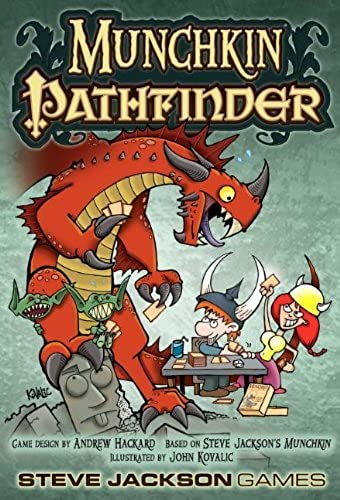 te hará satisfecho Munchkin Pathfinder Pathfinder Pathfinder Card Game by Steve Jackson Games  Felices compras