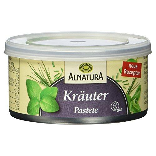 Alnatura Bio Pastete Kräuter, vegan (1 x 125 g)