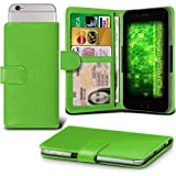 Fone-Case (Green) Archos 50f Helium Case Clamp Style Wallet