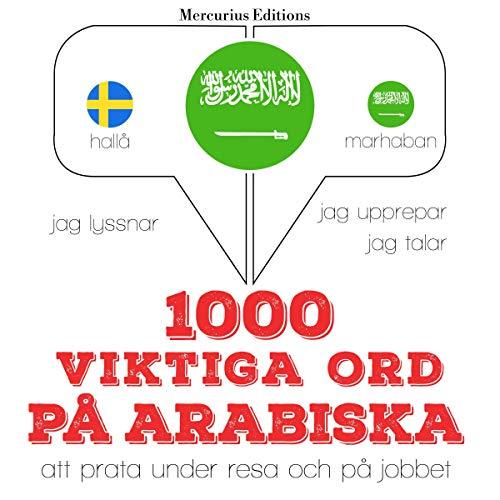 1000 viktiga ord på arabiska cover art