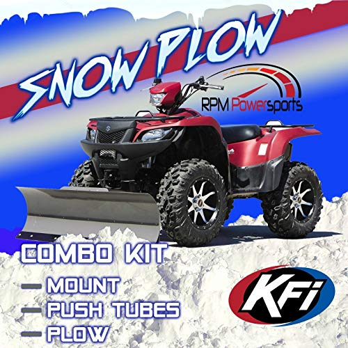 RPM KFI 54 INCH PRO Series ATV Snow PLOW KIT Compatible with Honda Rancher 2x4 & 4x4 2015-2020