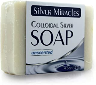 Colloidal Silver Soap - 1 Bar