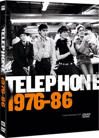 Telephone : 1976-86 - Les Années Téléphone - Coffret 2 DVD