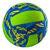 TOOLZ Neopren Volleyball - grün/blau - 65cm - Strand- und Wasserspielball