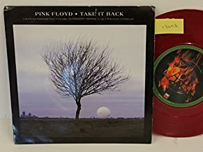 PINK FLOYD take it back, PICTURE SLEEVE, 7 inch single, maroon vinyl, EM 309