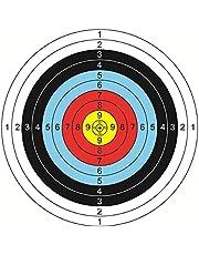 Gojiny 30st Bågskytte Mål Bågskyttepapper Användbara professionella mål Pilmål Skjuttillbehör för utomhusskytteövning