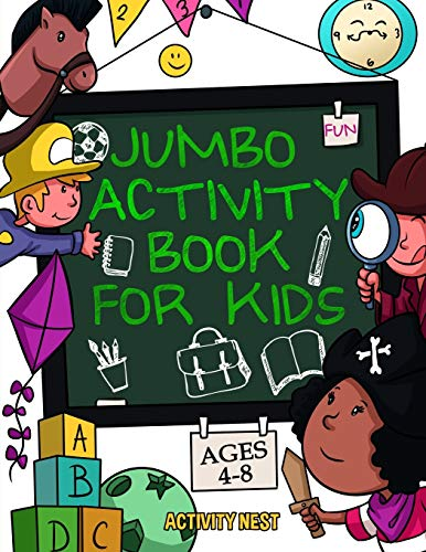 Jumbo Activity Book for Kids Age...