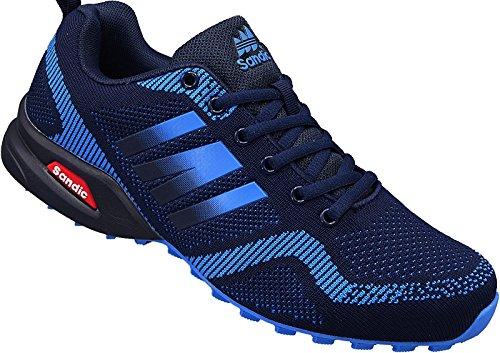 Herren Sportschuhe Sneaker Turnschuhe Schuhe Gr.41-46 Art.-Nr.2941 Navy-blau (46)