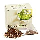 Aromas de Té - Té Rooibos Digestiv con Tila Menta Anís/Infusión Rooibos Digestivo con Caléndula, 20 pirámides