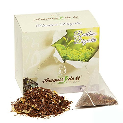 ✔ BENEFICIOS: Este té Rooibos digestiv, como su nombre indica, proporciona un efecto digestivo y relajante. Tras una comida copiosa, será tu mejor aliado para mejorar tu digestión. ✔ INGREDIENTES: Rooibos, tila, hinojo, menta, anís en grano, anís est...
