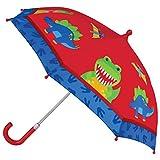 Stephen Joseph Kids' Umbrella, BLUE DINO, One Size