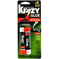 2-Count Krazy Glue KG517 All Purpose Super Glue