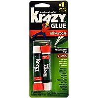2-Count Krazy Glue KG517 All Purpose Super Glue (2 Grams Each)