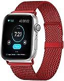 HILIMNY Compatible Cinturino per Apple Watch Cinturino 38mm 40mm 42mm 44mm, Acciaio Inossidabile Ricambio Cinturini, per Apple...