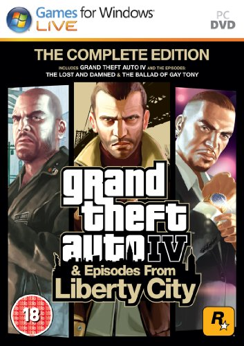 Grand Theft Auto IV: Complete Edition (PC DVD) [Edizione: Regno Unito]
