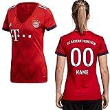 adidas Kopie FCB FC Bayern München Trikot Home Heimtrikot 2018 2019 Damen Spieler Name L Ihr Wunschname