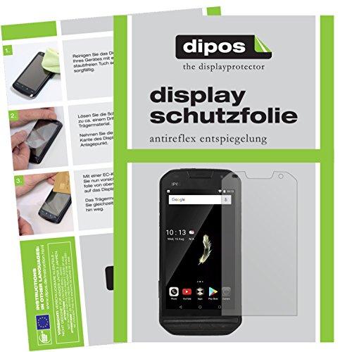 dipos I 2X Schutzfolie matt kompatibel mit Doogee S30 Folie Bildschirmschutzfolie