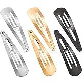 Horquillas de metal para el pelo, 30 unidades, de 8 cm, antideslizantes, accesorios para el cabello para niñas y mujeres