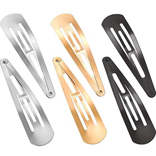 30 piezas 3.1 pulgadas de broche de metal para el pelo, clips de pelo antideslizantes, accesorios para el cabello para niñas y mujeres