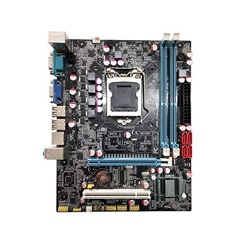 Docooler Placa Madre H55 Nueva LGA1156 DDR3 Compatible con la Placa Base de la...