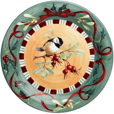 Lenox Winter Time sale Greetings Everyday Popular overseas Dinner Chickadee Plate