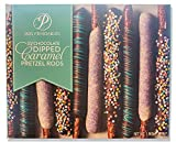 Mrs. Prindables 24 Chocolate Dipped Caramel Pretzel Rods 2.11 lbs (2021 edition)